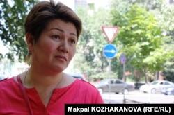 Кәсіпкер Гауһар Әбішева. Алматы, 6 тамыз 2013 жыл.