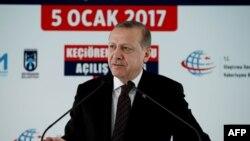 Турскиот претседател Реџеп Тајип Ердоган.