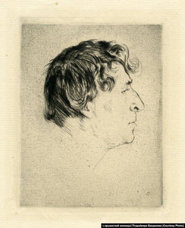 Партрэт Марка Шагала