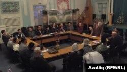 """""""Ихлас"""" мәчетендә үткән ТИҮ утырышы"""
