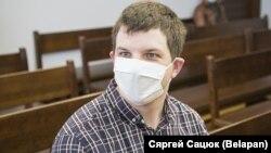Піліп Шаўроў напрацэсе ўЦэнтральным раённым судзе Менску