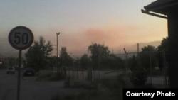 Zagađenje u Zenici 18. jula 2012, foto: Hasan Kreho