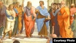 """Platonun """"Sokratın müdafiəsi"""" kitabının üz qabığından"""