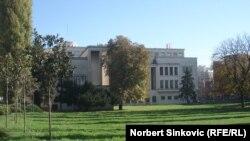 Zgrada Skupštine Autonomne pokrajine Vojvodine, arhivska fotografija
