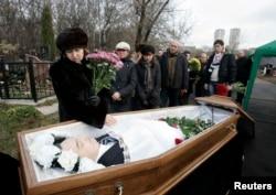 Москва, похороны Сергея Магнитского, 20 ноября 2009 года