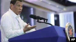 رودریگو دوترته، رئیسجمهور فیلیپین