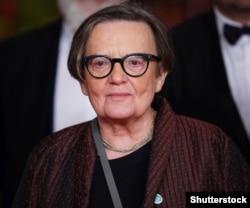 Польська кінорежисерка Аґнєшка Холланд під час Берлінського кінофестивалю, 10 лютого 2019 року