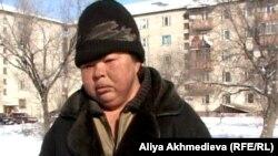 Бомжиха Женя. Талдыкорган, 25 января 2012 года.