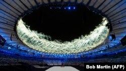 Sa otvaranja Paraolimpijade u Riju, Ilustracija