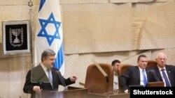 Президент України Петро Порошенко під час виступу в парламенті Ізраїлю (Кнесеті), 22 грудня 2015 року