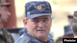 Айк Арутюнян на должности начальника Полиции Армении, 2006 г․
