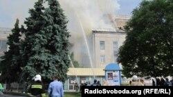 Пожежа в приміщенні театру у Черкасах, 1 липня 2015 року