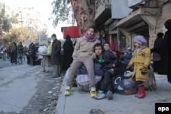 Эвакуация из осажденного Алеппо, 15 декабря 2016 года