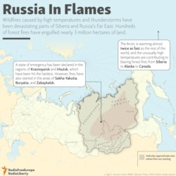 INFOGRAPHIC: Russia In Flames