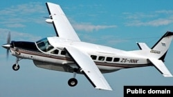 Pamje e aeroplanit të tipit Cessna