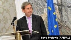 Єврокомісар з питань європейської політики сусідства і переговорів про розширення Йоганнес Ган