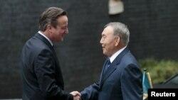 Дэвид Кэмерон жана Нурсултан Назарбаев. Лондон, 3-ноябрь, 2015-жыл.