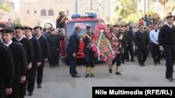 مراسم تشييع جنازة اللواء محمد سعيد