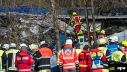 Aksidenti mes dy trenave në Gjermani, 9 shkurt 2016