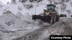 Дорога Душанбе-Чанак. 2 января 2020 года