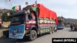 اولین محمولهکالاهایصادراتی پاکستان