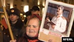 """""""Нас вырастил Сталин..."""" 7 ноября 2008 года, Москва"""