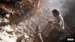 Землетрясение близ Тебриза