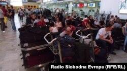 """Macedonia- airport """"Alexander the Great"""" in Skopje"""