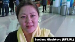 Әсел Нұрғазиева, қоғамдық белсенді. Астана, 10 желтоқсан 2013 жыл