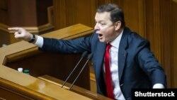 Лідера «Радикальної партії» Олега Ляшка неодноразово звинувачували в сексистських висловлюваннях щодо колег-депутаток