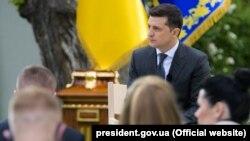 Президент України Володимир Зеленський давав 20 травня пресконференцію щодо річниці перебування в кріслі глави держави