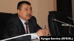 Кандидат в мэры Оша Айтмамат Кадырбаев.