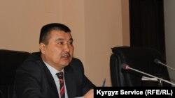 Айтмамат Кадырбаев, избранный мэр города Ош.