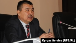 "Osh Mayor Aitmamat Kadyrbaev says those calling for ""taking power"" will never be allowed to do so."