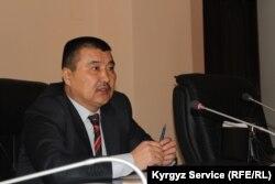 Оштың жаңа әкімі Айтмамат Кадырбаев.