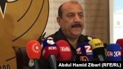 مدير شرطة اربيل عبدالخالق طلعت