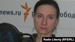 Одна из участниц митинга в Москве – Лолита Цария
