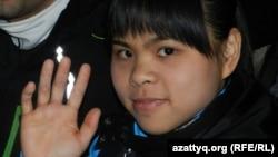 Лондон олимпиадасының чемпионы Зүлфия Чиншанло. Қараша, 2011 жыл.