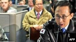 South Korea's President Lee Myung-bak