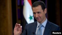 Сирийский президент Башар Асад
