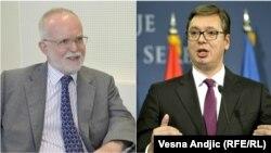 Denis Kif i Aleksandar Vučić