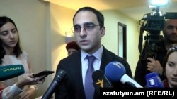 Вице-премьер Армении Тигран Авинян (архив)