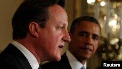Дэвид Камерон жана Барак Обама