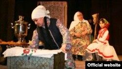 Төмән районы Каскара авылы фольклор төркеме чыгышы
