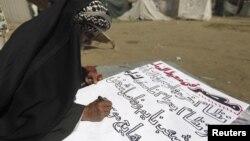 ميدان التحرير بالقاهرة: مواطن مصري من معارضي سياسة الرئيس مرسي