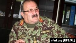 جنرال افضل امان سرپرست قوماندانی گارنیزیون کابل