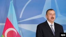 Presidenti i Azerbajxhanit, Ilham Aliyev.