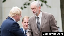 Corbynov plan uključuje odgađanje Brexita, novi referendum i opće izbore (Corbyn i Johnson, foto iz 2016. godine)