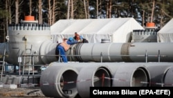 A Senate panel will discuss a hard-hitting Russia sanctions bill this week after Congress included sanction legislation against Russia's Nord Stream 2 pipeline into the 2020 National Defense Authorization Act.