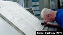 Проверка избирательных бюллетеней
